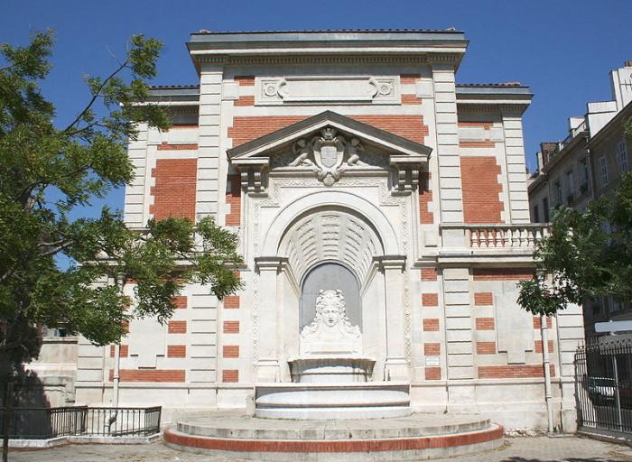 Henri-Jacques-Esperandieu fontaine Espérandieu Marseille