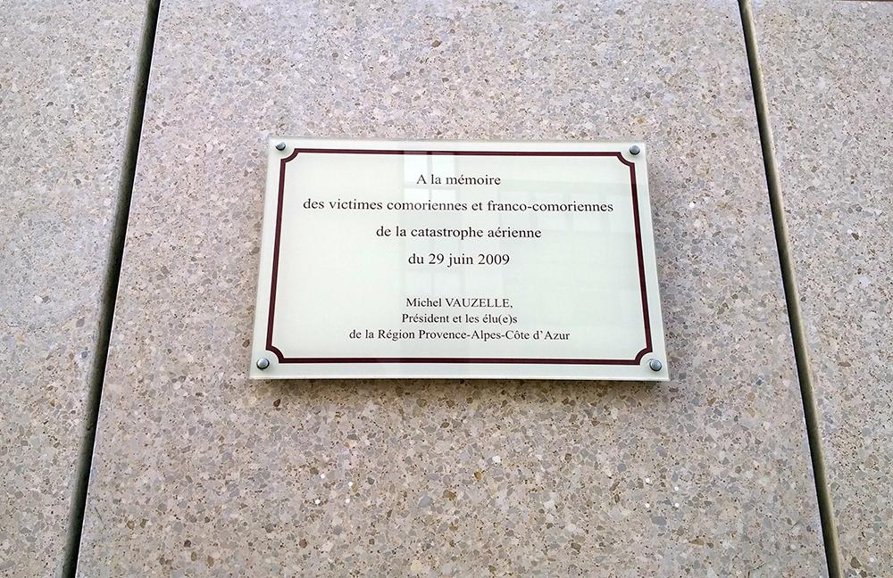 Hommage aux Comoriens du 29 juin 2009