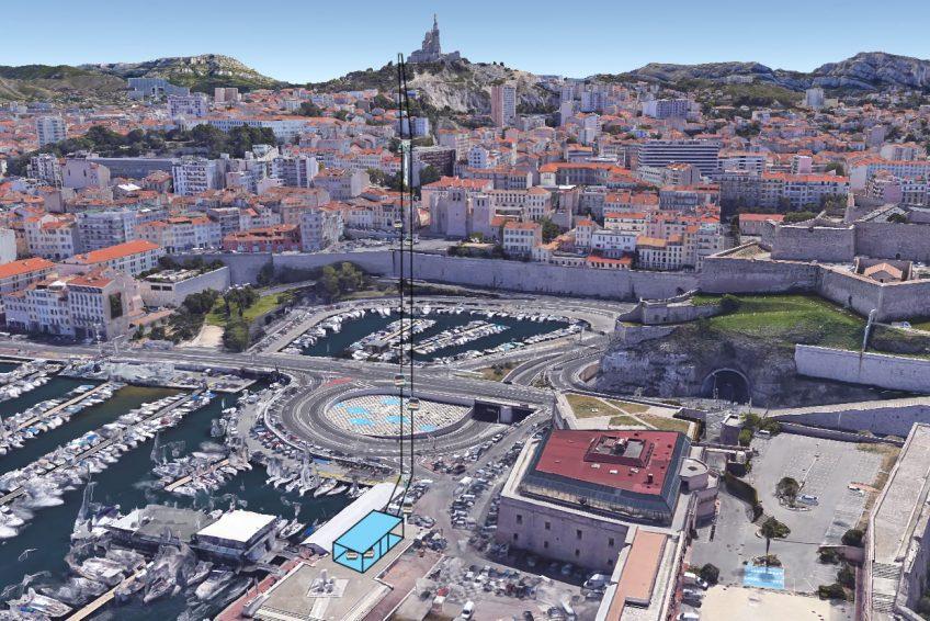 Téléphérique de Notre-Dame de la Garde, Marseille